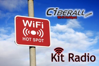 Kit HotSpot Radio Enlace