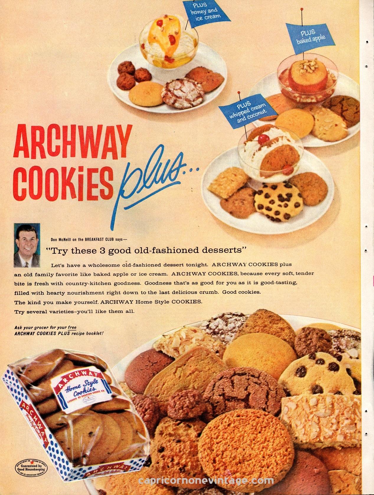 Archway Cookies - House Cookies