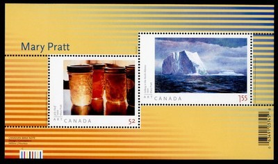 Canada 2212 MNH Mary Pratt, Art, Iceberg, Jelly Shelf