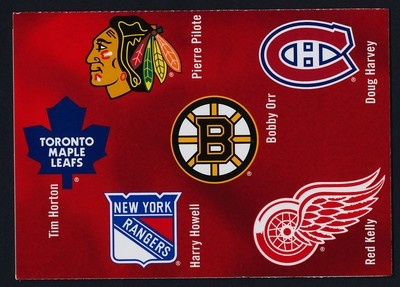 Canada 2787 Booklet MNH NHL Hockey, Original Six Canadian Defencemen, Sport