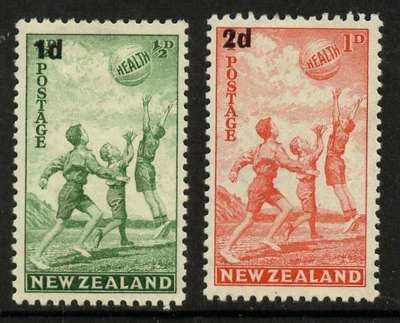 New Zealand B14-5 MNH - Sports, Children at Play