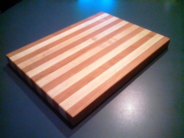 Large MDW Cherry & Maple Cutting Board