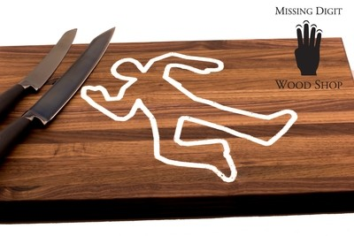 Mr. Body Walnut Cutting Board