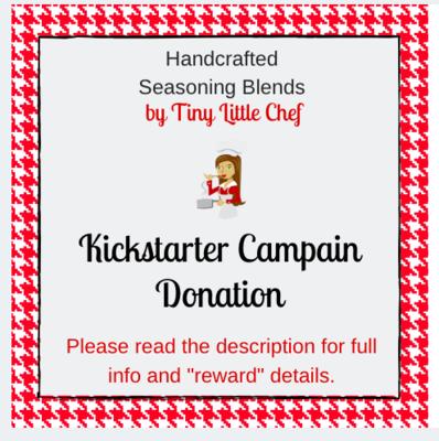Kickstarter Campaign Donation.