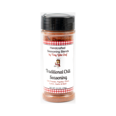 Traditional Chili Seasoning  - 5.5 oz