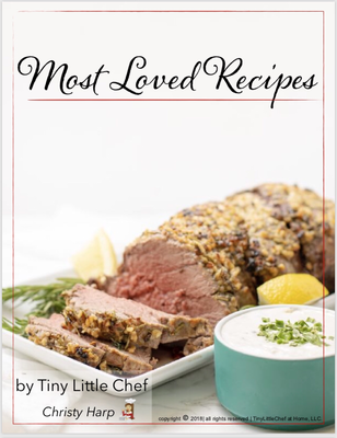 Digital Download - Most Loved Recipes Cookbook