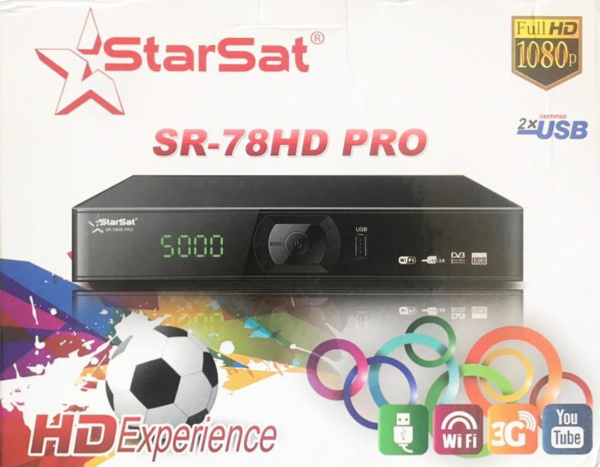 StarSat SR-78HD Receiver