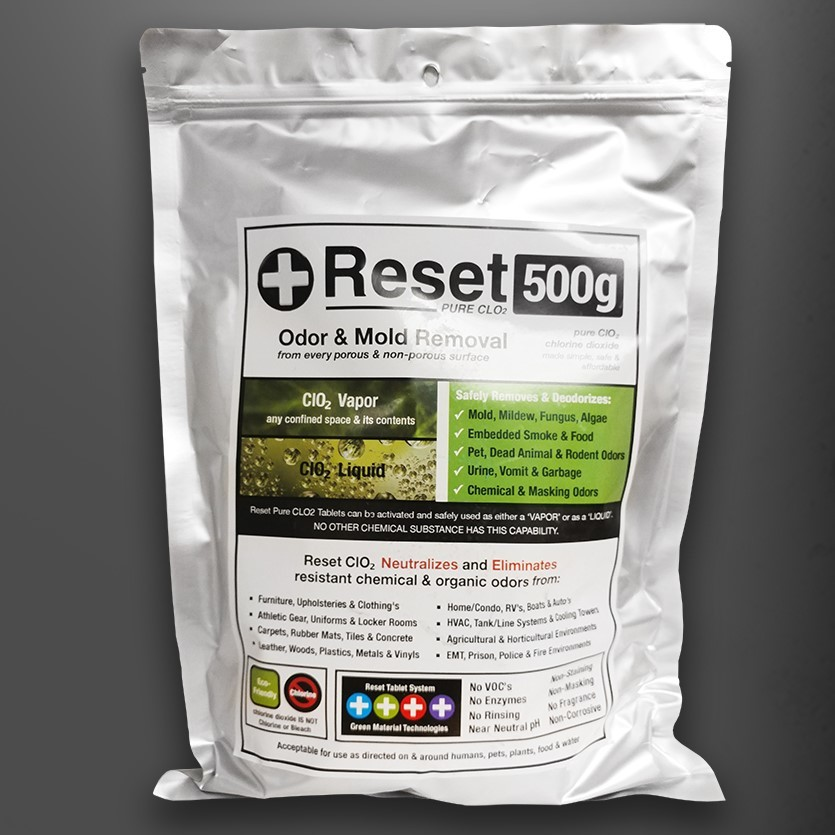 Chlorine Dioxide CLO2 500G Kit BE500GKIT