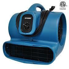X600A Airmover, Blue, 3 Speed, GFCI X600ABLU