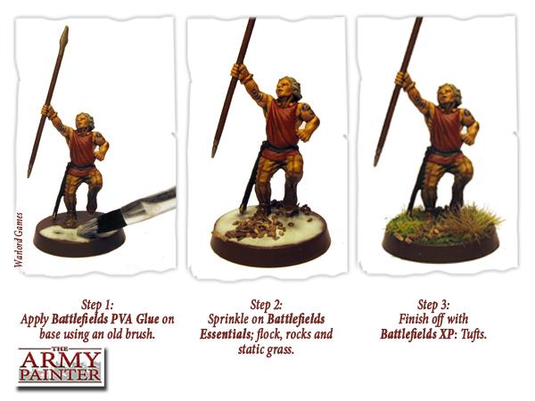 Battlefields Basing Glue (PVA) 50ml - Leim - Army Painter