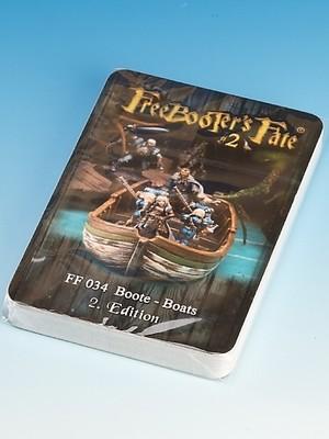 FF034 Boote Charakterkarten # 2 - Freebooter's Fate