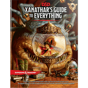 D&D Dungeons & Dragons RPG - Xanathar's Guide to Everything - EN C22090000