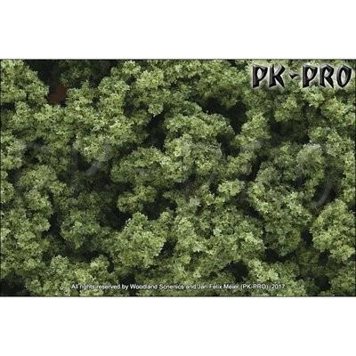 CLUMP-FOLIAGE-hellgrün-(gr.-Beutel)-(2,83dm³/173in³) - Woodland Scenics