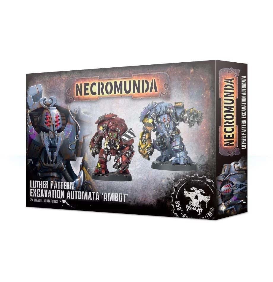 """Luther-Schema-Ausgrabungsautomat """"Ambot"""" - Necromunda - Games Workshop"""