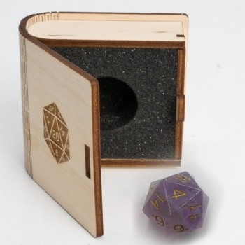 Gemstone Collectors Dice - Amethyst - D20 W20