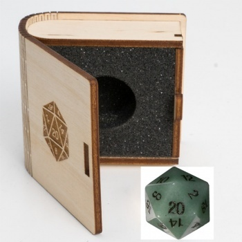 Gemstone Collectors Dice - Aventurine - D20 W20 BF08643