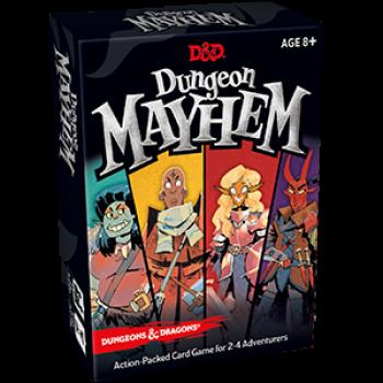 D&D Dungeon Mayhem - EN - Kartenspiel - Pegasus Spiele