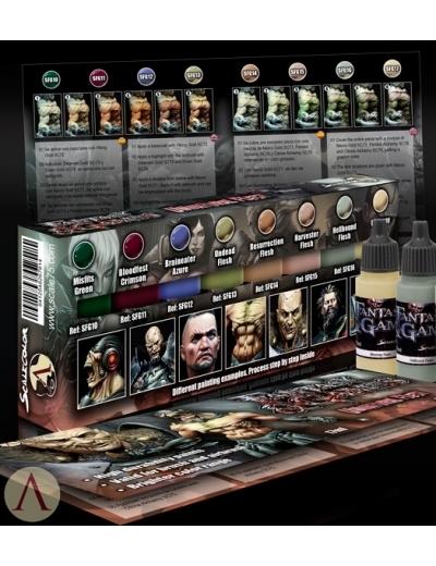 Unnatural Flesh - Fantasy&Games Paint Set - Farbset - Scale75