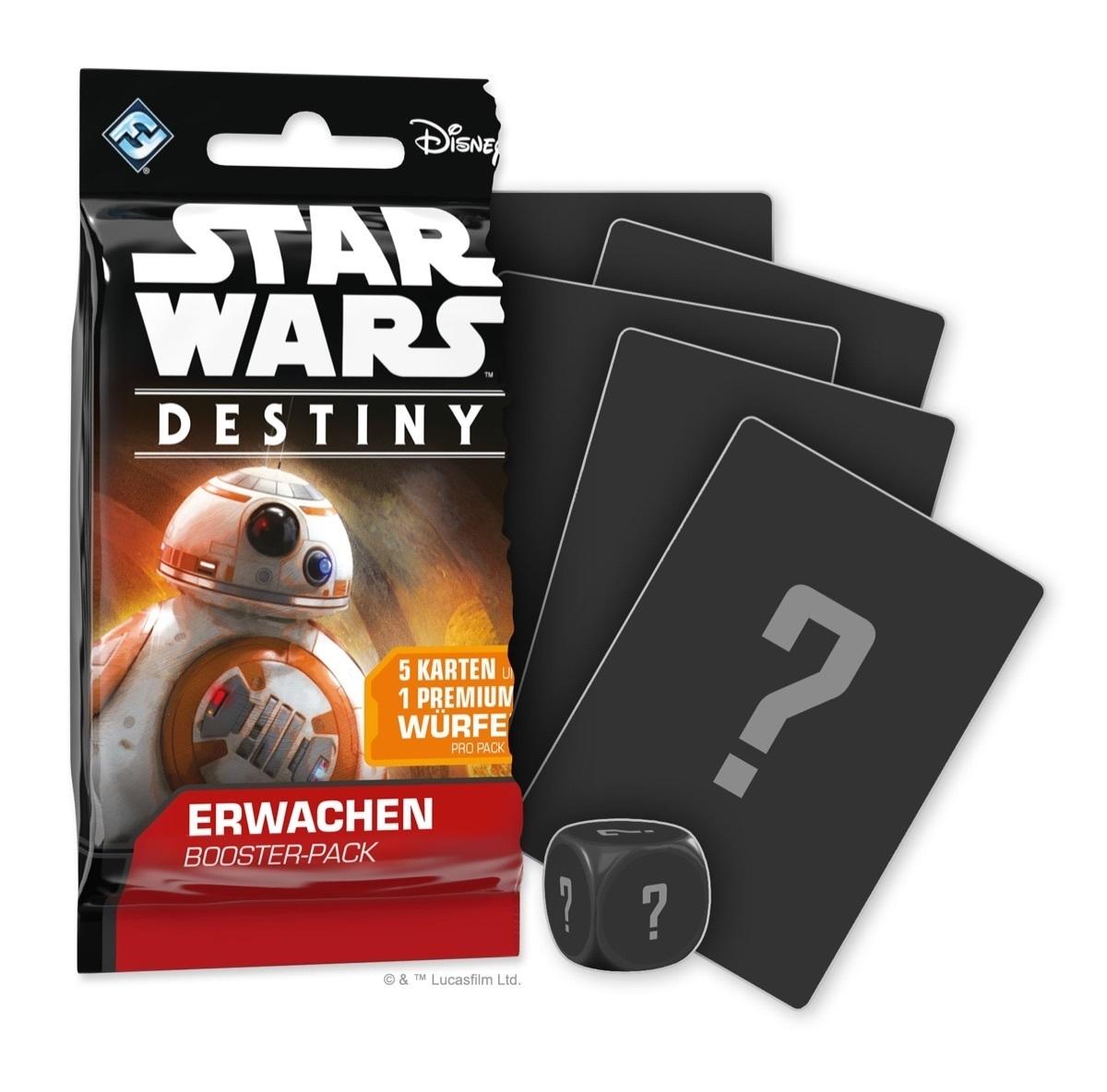Star Wars: Destiny - Geist der Rebellion Booster (36)-Display DEUTSCH
