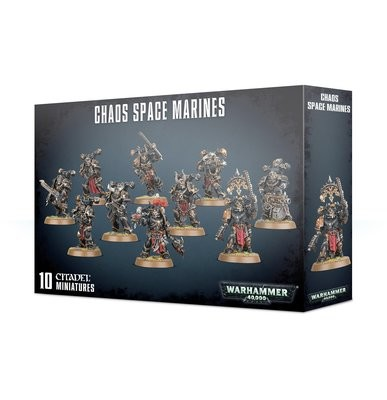 Chaos Space Marines - Warhammer 40.000 - Games Workshop