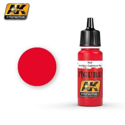 Red Vermillion Cadmium Red - Farbset - AK Interactive
