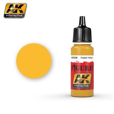 Faded Yellow - Farbset - AK Interactive