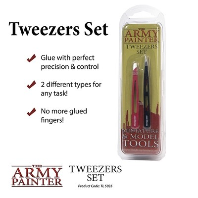 Tweezers Set Pinzette - Army Painter