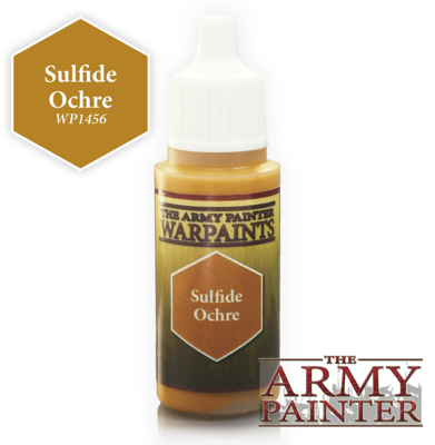 Sulfide Ochre - Army Painter Warpaints