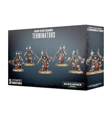 Chaos Space Marines Terminators - Warhammer 40.000 - Games Workshop