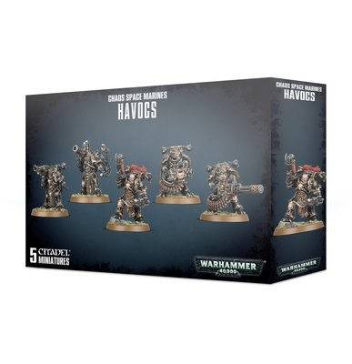 Chaos Space Marines Havocs - Warhammer 40.000 - Games Workshop