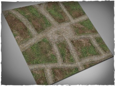 Cobblestone Streets - Mousepad Mat - 3x3 - Deep Cut Studio