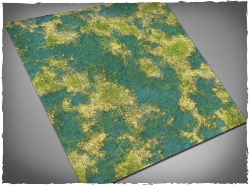 Tropical Swamp - Mousepad Mat - 3x3 - Deep Cut Studio