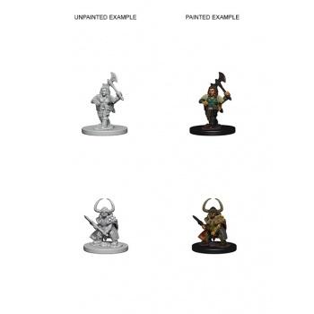 D&D Nolzur's Marvelous Miniatures - Dwarf Female Barbarian WZK72645