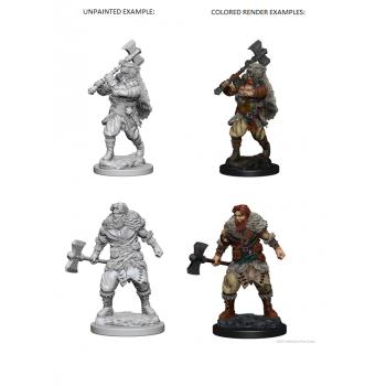 D&D Nolzur's Marvelous Miniatures - Human Male Barbarian
