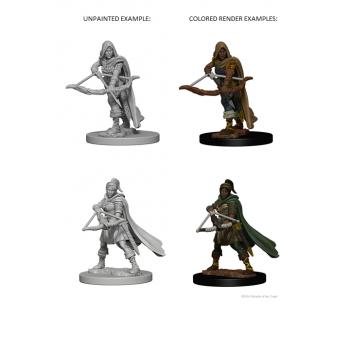 D&D Nolzur's Marvelous Miniatures - Human Female Ranger WZK72636
