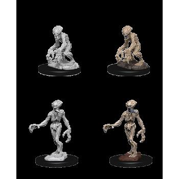 Pathfinder Battles Deep Cuts Unpainted Miniatures - Doppelgangers D&D WZK73549