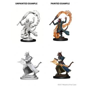 D&D Nolzur's Marvelous Miniatures - Tiefling Male Sorcerer WZK73201