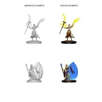 D&D Nolzur's Marvelous Miniatures - Elf Female Wizard
