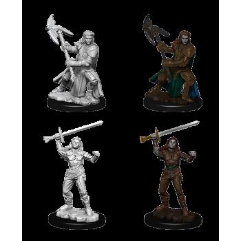 D&D Nolzur's Marvelous Miniatures - Female Half-Orc Fighter