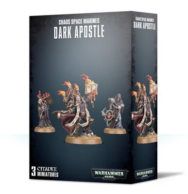 Chaos Space Marines Dark Apostle - Warhammer 40.000 - Games Workshop
