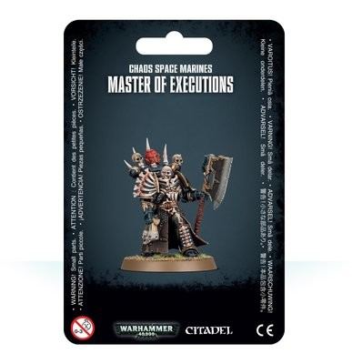 Chaos Space Marines Master of Executions - Warhammer 40.000 - Games Workshop