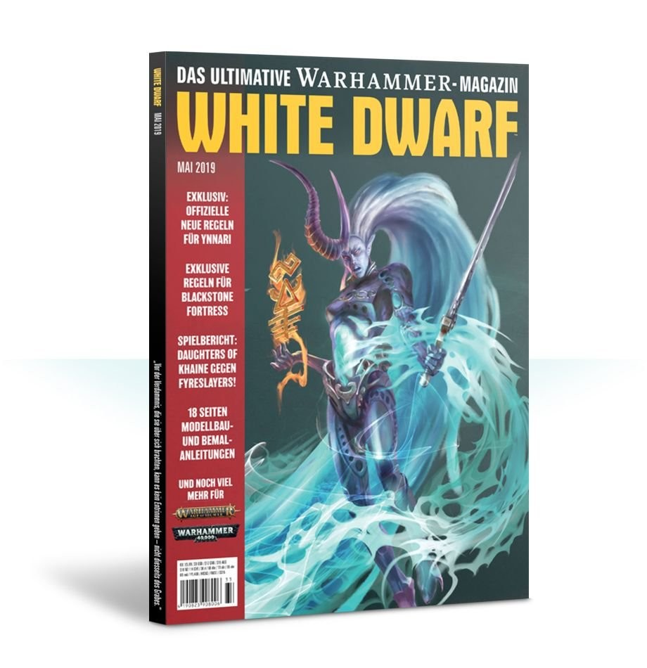 White Dwarf Mai 2019 (Deutsch) - Games Workshop