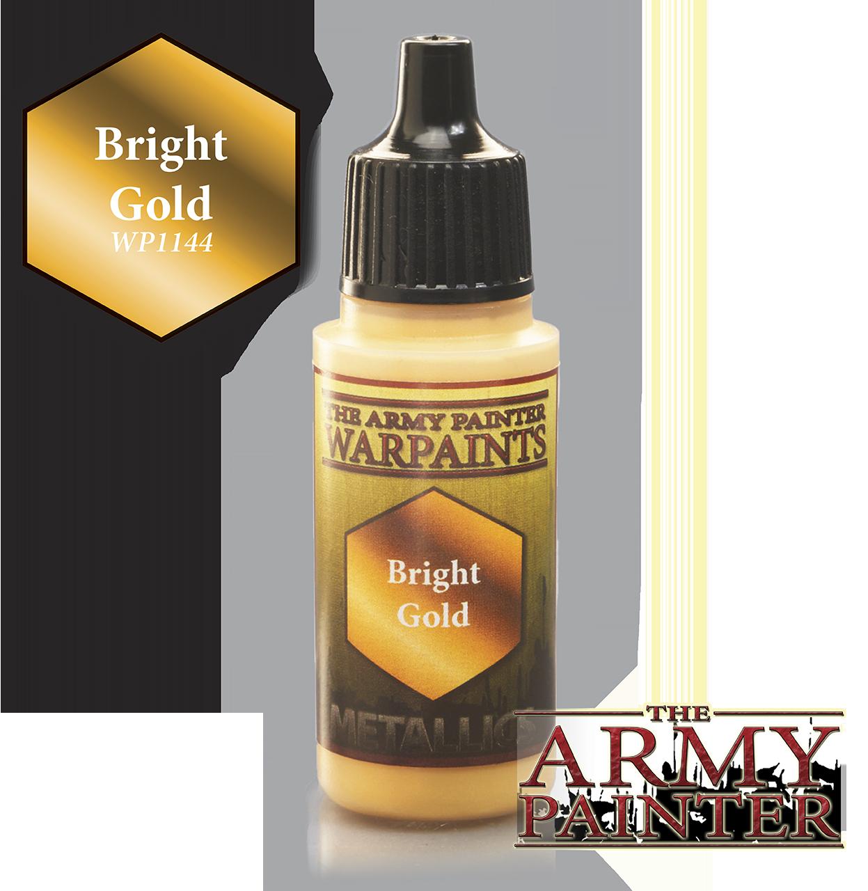 Bright Gold - Army Painter Warpaints