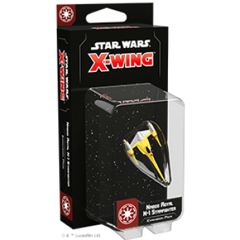 Star Wars X-Wing: Naboo Royal N-1 Starfighter Expansion Pack - EN - Deutsch