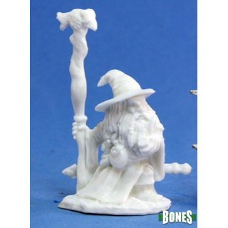 Khael Stonekindle, Dwarf Wizard  - Reaper Bones 77075-bones