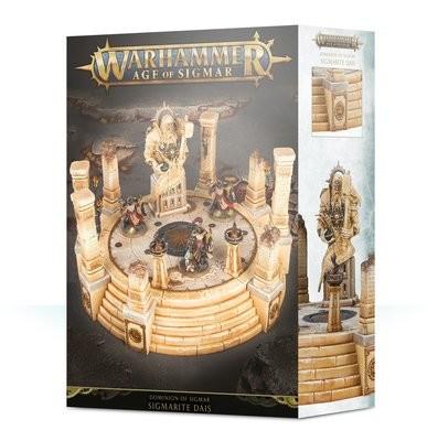 Dominion of Sigmar: Sigmarite Dais - Warhammer Age of Sigmar Gelände - Games Workshop
