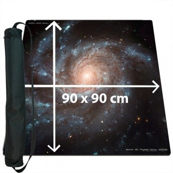 Ultrafine Playmat - Space 90x90cm with carrybag - Spielmatte - Weltall