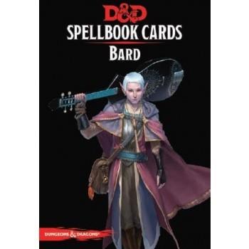 D&D Dungeons&Dragons Spellbook Cards - Bard (128 Cards) - EN