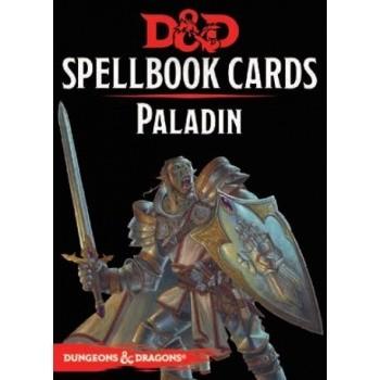 D&D Dungeons&Dragons Spellbook Cards - Paladin (69 Cards) - EN