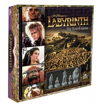 Jim Henson's Labyrinth: The Board Game - EN - Brettspiel